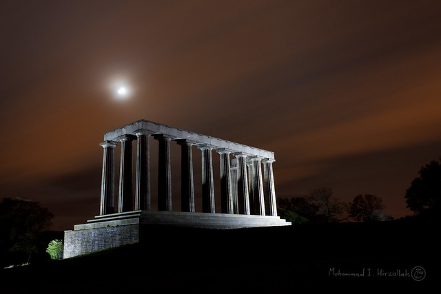 The Scottish Monument ... my wining photo