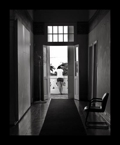 Ragazza alla finestra by Luiz L.
