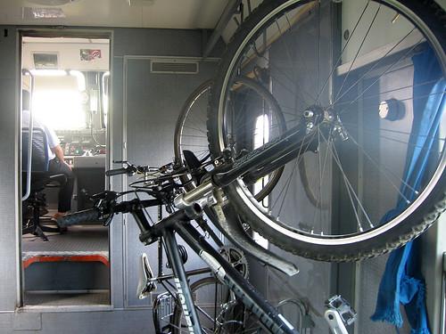 Treno Roma-Pisa, vagone bici