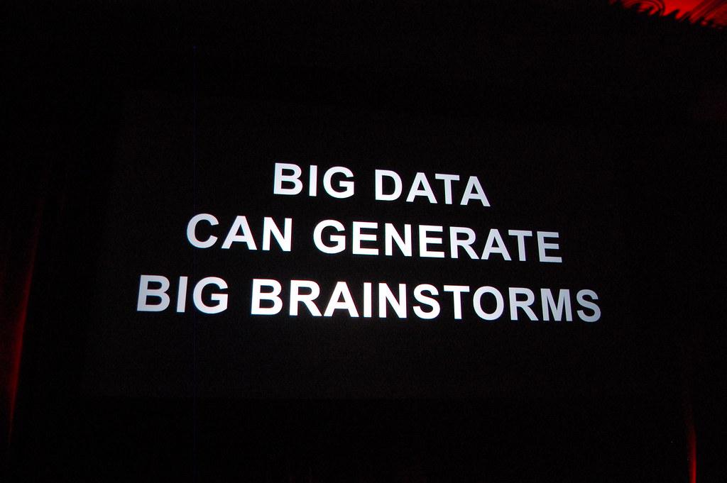 Big Data Can Generate Big Brainstorms