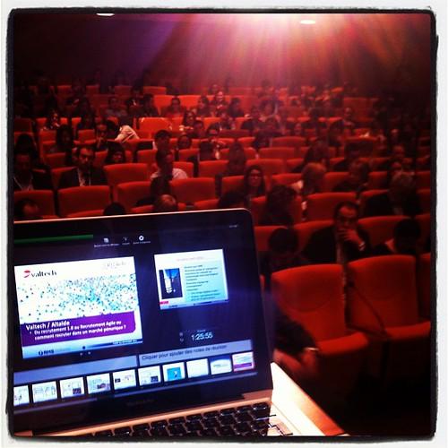 Devant moi à la conférence #rmsconf