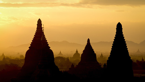 Sunrise at Bagan - Myanmar (Burma)
