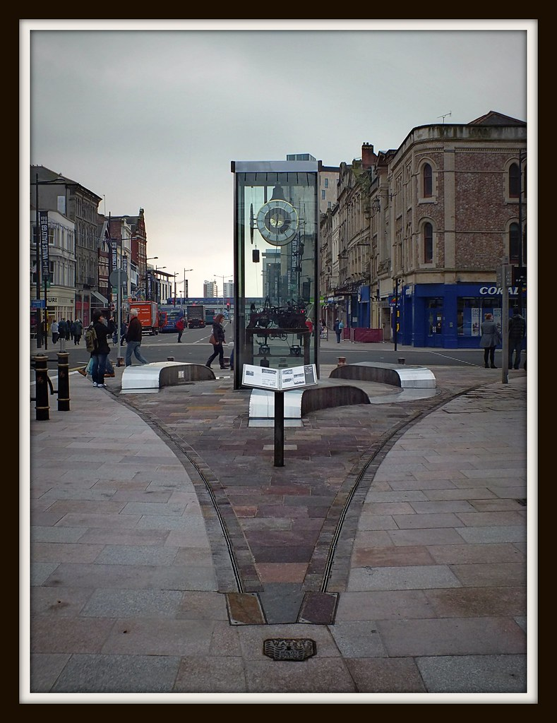 New Clock Tower on St Mary Street
