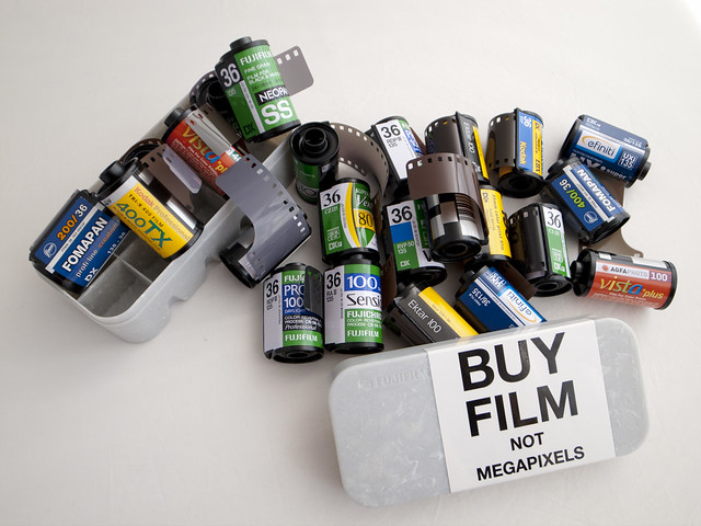 Buy film, not mega pixels!