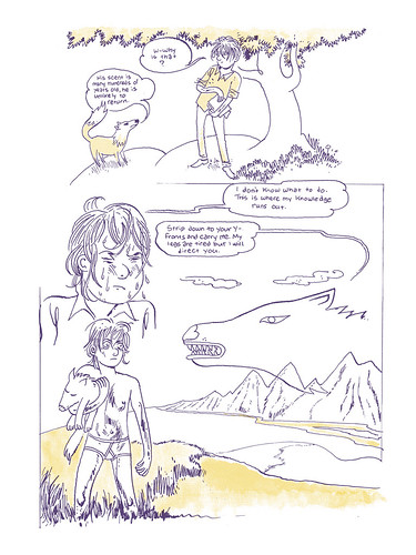 Trevor Alixopulos page from Study Group Magazine #1