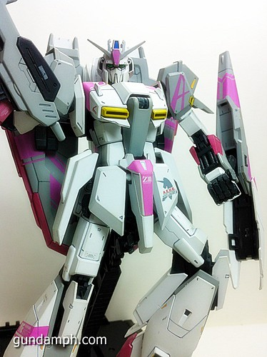 MG Zeta Karaba White Unicorn Painted Build (13)