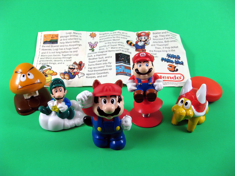 The Young Appeal Of The Super Mario Bros 3 Happy Meal