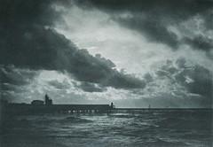 Wolkenstudie, 1898, by Hugo Büchner