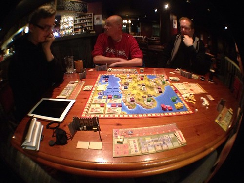 Playing Lancaster in Artturi with the guys