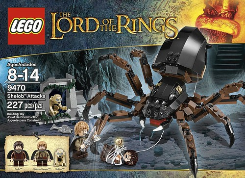 LEGO The Lord of the Rings 2012 9470 Shelob Attacks