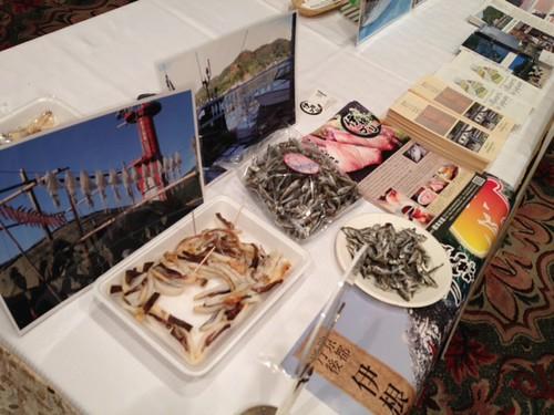伊根町の煮干しは美味しかった!@京都・丹後PRフェアin東京
