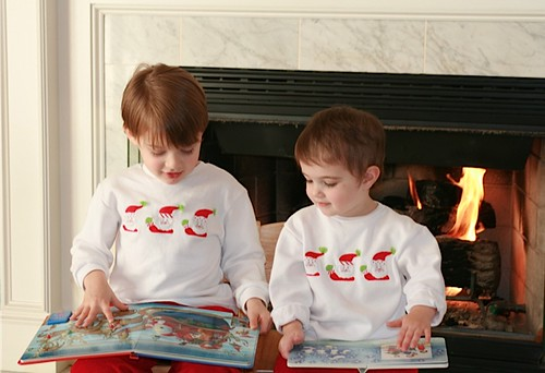 Photo from 2007 December Santa shirts
