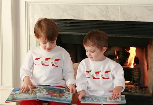 Photo from 2007 December Santa shirts