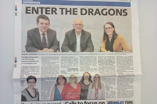 In Leicester Mercury this morning!