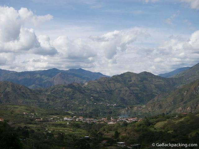 The pueblo of Vilcabamba