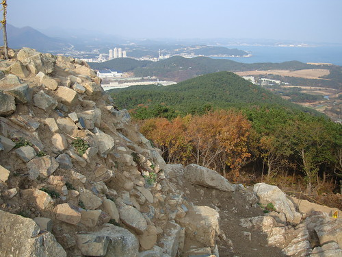 Signal tower in Gijang