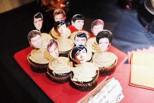 Star Trek cupcakes!