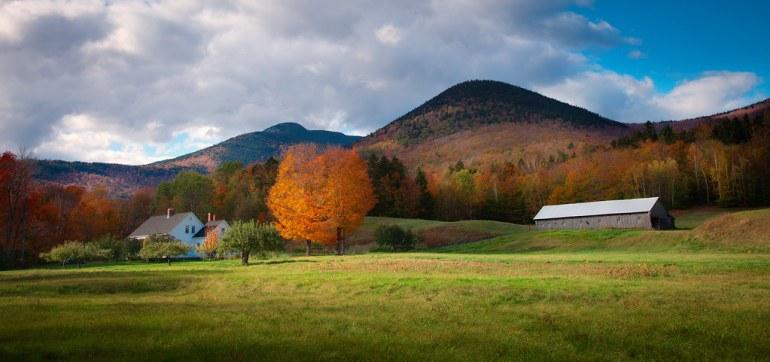 'New Hampshire's Treasure', United States, New Hampshire, White Mountains, Mt. Wonalancet, Farm