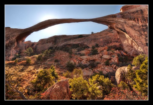 Shadows of Landscape Arch