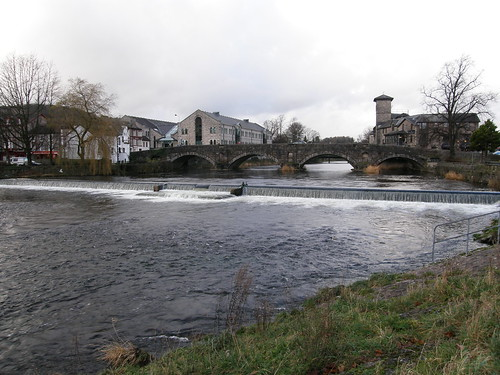 Stramongate Weir and Bridge