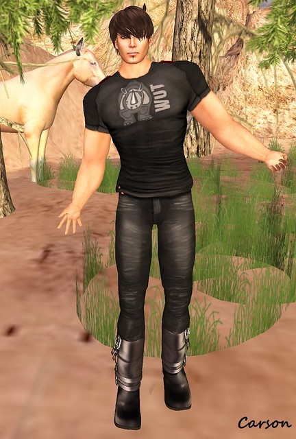 Razorblade Jacket - Rhino Wut T-Shirt