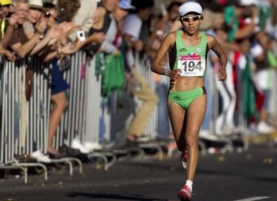 Madaí Perez muy cerca del oro en el Maratón femenil Panamericano