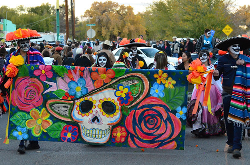 Dia de los Muertos finados nos EUA