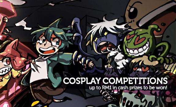 Comic Fiesta 2011 Cosplay Events