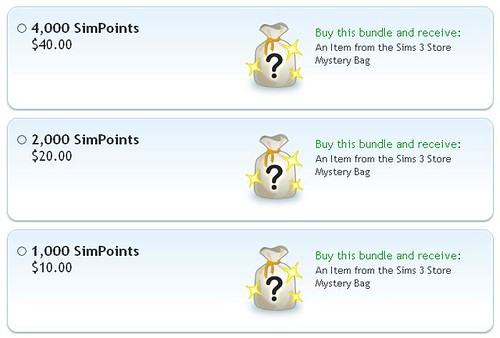 Buy SimPoints and get Extras!!!
