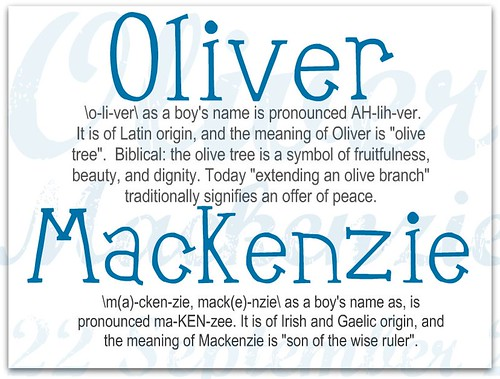 Meaning Oli-Mac