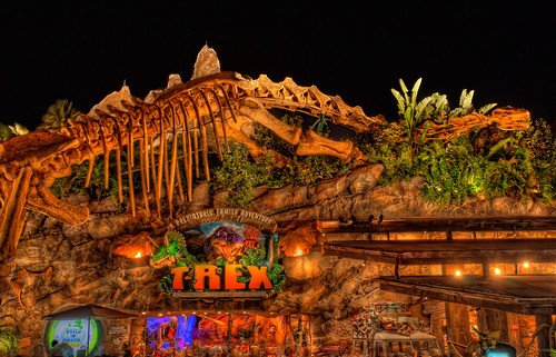 Trex Restaurant at Night