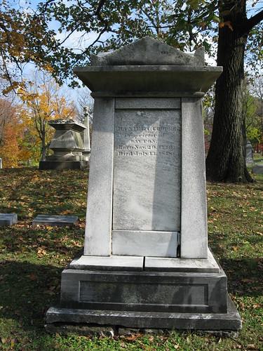 Tombstone of Daniel C. Cooper, Woodland Cemetery