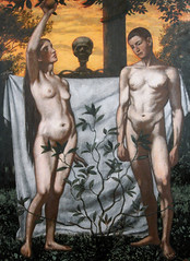 Adam and Eve, 1897, by Hans Thoma
