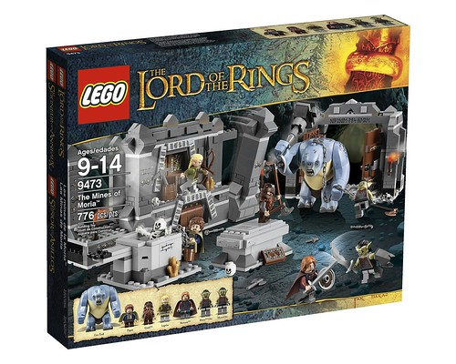 LEGO The Lord of the Rings 2012 9473 The Mines of Moria