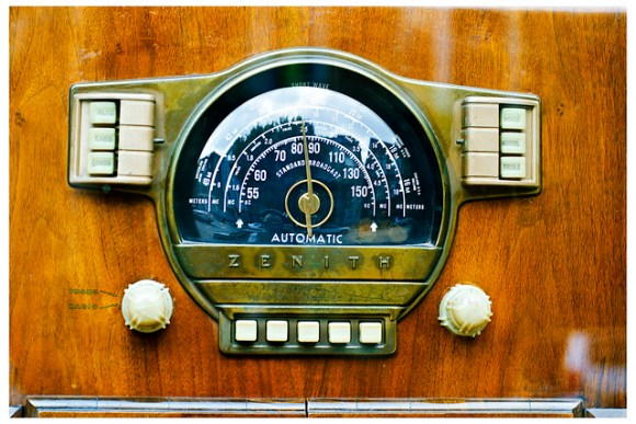 Zenith Phono Radio