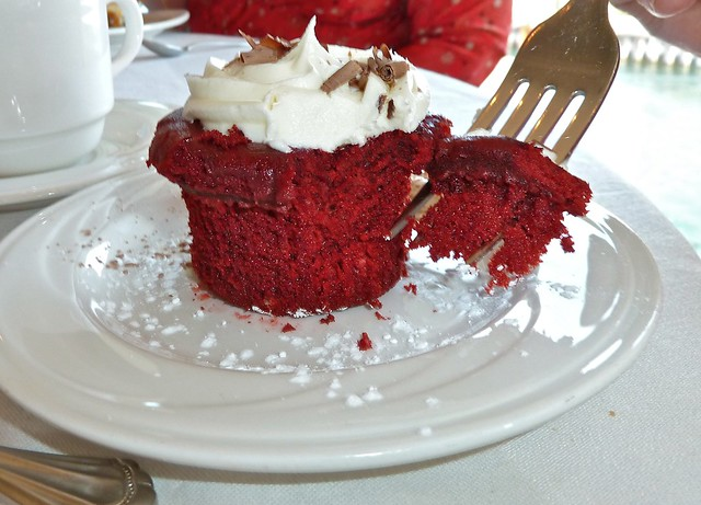 Red Velvet Cupcake at the Weathervane, Charlevoix