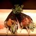 Spicy Tuna and Salmon Skin Handroll