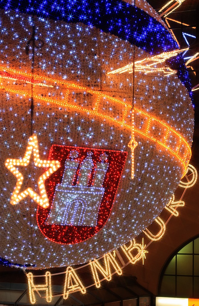 Hamburg Hauptbahnhof December 2010