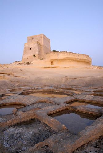 Malta; Gozo salt pans