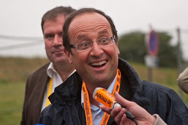 François Hollande - Vieilles Charrues