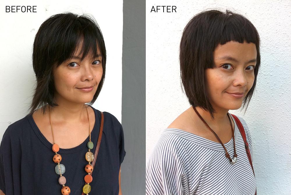 new haircut 07.2011