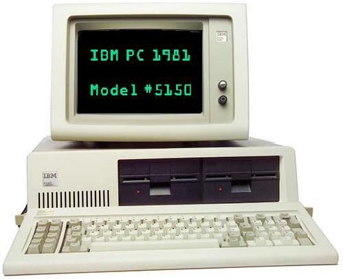 IBM PC 1981