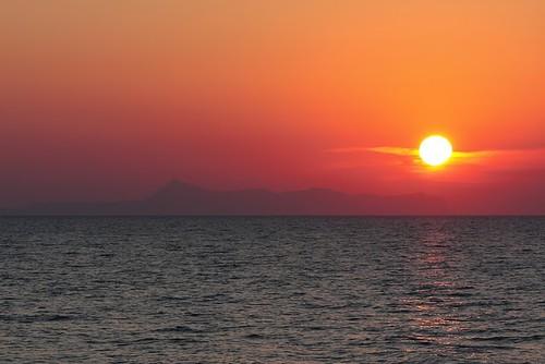 Sonnenuntergang auf Kreta by hellboy2503