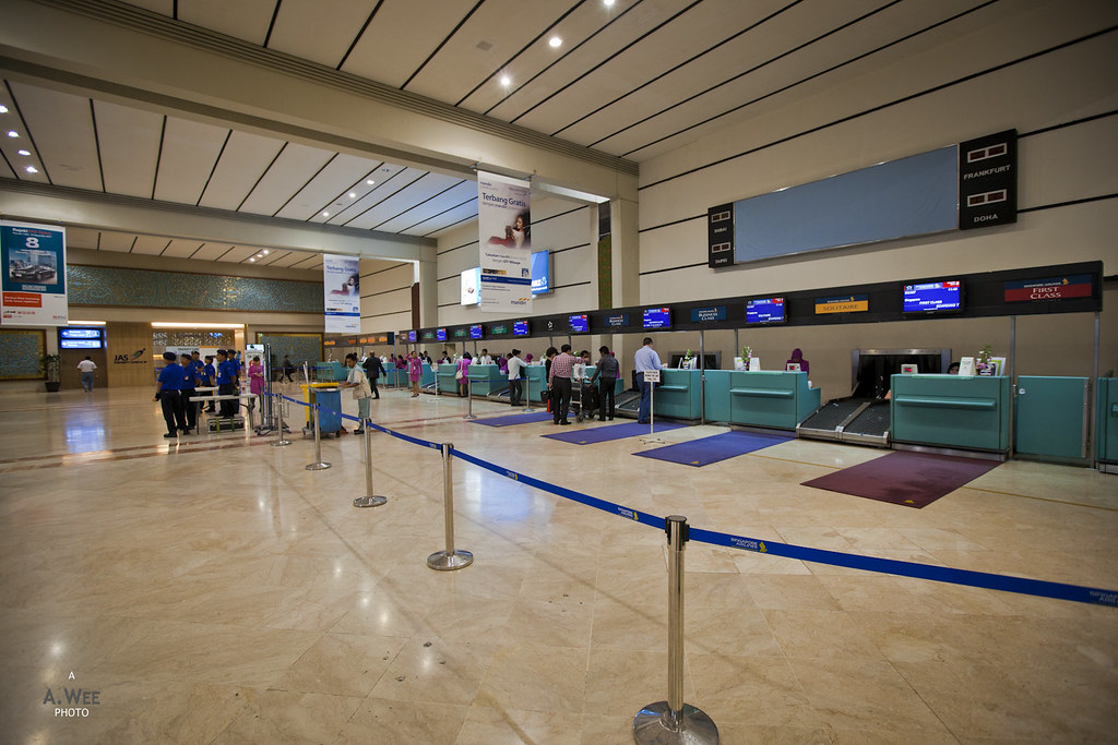 SIA Check-in Counters at CGK