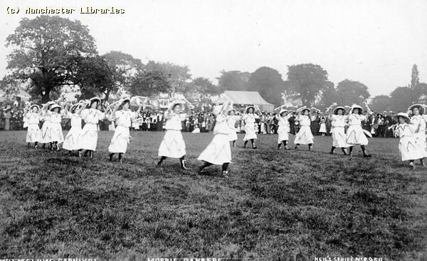 Morris Dancing, Wilmslow Carnival, 1910