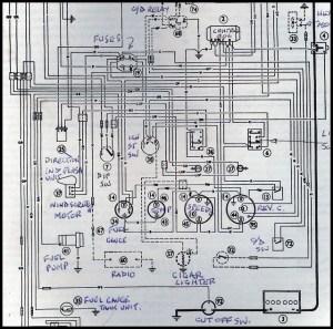 1966 Austin Healey 3000 wiring | Flickr  Photo Sharing!