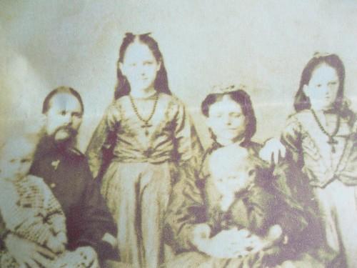 Thomas and Catherine Yarrow and family