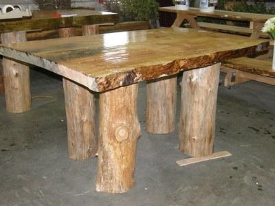 organic wood table