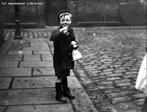 Boy, Cinderella Club, Manchester,1910