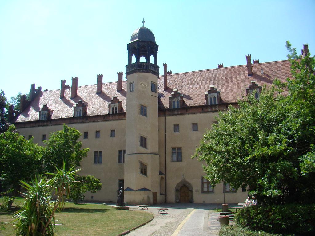 exterior Wittenberg Lutherstadt museo casa Lutero Alemania Patrimonio de la Humanidad Unesco